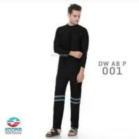 Terbaru Baju Renang Pria Lengan Panjang Celana Panjang Setelan DV AB P