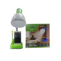 Lampu Meja Belajar Leher Fleksibel PLC + Switch+ Tempat Pensil VDR 009