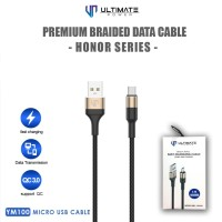 Ultimate Power Premium Braided Kabel Data Cable Honor Series Micro Usb