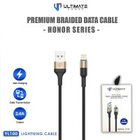 Ultimate Power Premium Braided Kabel Data Cable Honor Series Lightning