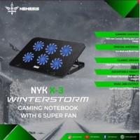 Nyk Nemesis X-3 Winterstorm - Cooling Pad Notebook Cooler Pad laptop