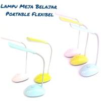 Lampu Meja Belajar Led Flexible Lampu Belajar Portable Lampu Baca