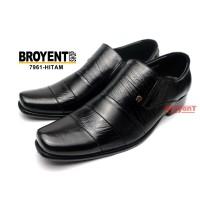 Sepatu Kerja Kantor Pantofel Pria Kulit Sapi Asli 7961