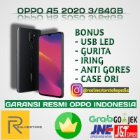 OPPO A5 2020 3/64GB NEW RESMI
