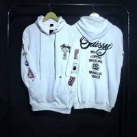 sweater hoodie STUSSY FLAG COUNTRY
