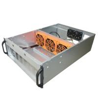 Upstart Bitcoin Mining Rig Frame 6/8GPU Miner Case Mining Frame