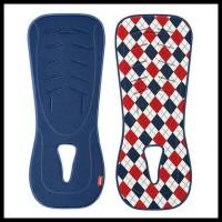 Terlaris Alas Stroller Car Seat Aprica New Sweat Absorbing Pad Blue