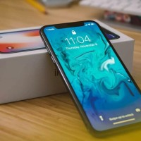 Iphone xs max 6.5inc real 4g platinum SC bkn s9