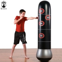 Inflatable Stress Punching Tower Bag Boxing Standing Water Base Traini