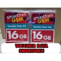 Voucher Isi Ulang Internet Smartfren 16GB Data Kuota 16 Gb