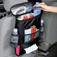rak jok mobil organizer bag rak kantong mobil hitam