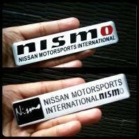 Emblem Nismo Alumunium Nissan