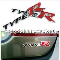 emblem HONDA TYPER TYPE R INCLUDE 3M
