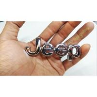 Emblem Jeep - Jip Kecil Chrome High Quality