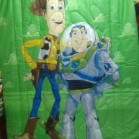 Bed Cover Untuk Anak Motif Toy Story