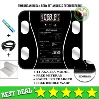 TIMBANGAN BADAN  DIGITAL BODY FAT MONITOR BODY FAT ANALISIS ACCUTARE