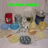 New Paket Lengkap mainan masak masakan kompor minyak tanah plus sumbu