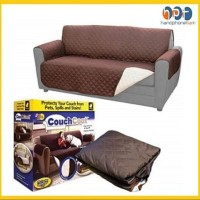 Couch Coat Reversible Washable Sofa Cover Color Tikar Pelindung Bulu