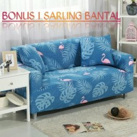 Cover Sofa SEATER / Sarung Sofa Stretch Elastis BANGAU - SEATER 3