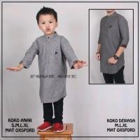 Teranyar_Terlaris Fashion Couple Pakaian Anak Dan Kemeja Ayah Koko