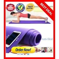 Matras Yoga Anti Slip / pilates mat / alas olahraga anti licin PREMIUM