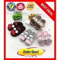Sandal Tidur Bulu / Sandal Rumah Motif Lucu / Slipper / Sandal Kamar