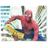 mainan edukasi puzzle anak karakter spiderman