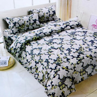 Krishome Selimut Bed Cover Microtex Cy 220 150 x 210 cm
