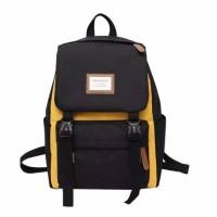 Tas / Tas wanita / Ransel / Backpack / Tas Sekolah / Tas PRIA -Kuning