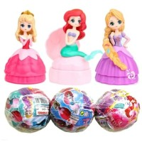 Princess LOL Surprised Egg Figure Set 3 Mainan Pajangan Topper FG555