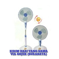 "STAND FAN MASPION 2IN1 16"" F-168S KIPAS ANGIN BERDIRI KIPAS ANGIN MEJA"
