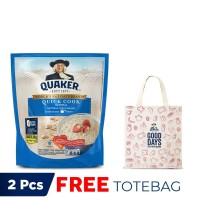 Quaker Quick Cooking 1.2 Kg - FREE Quaker Tote Bag