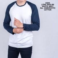 RVV - Kaos lengan panjang cowok | Raglan Baju atasan pria