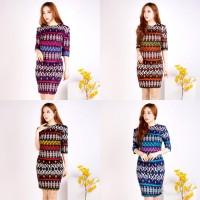 RVV - Baju cewe batik | dress bodycon batik songket wanita