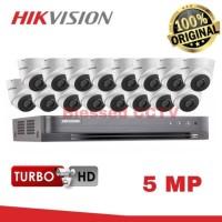 PAKET CCTV HIKVISION 5MP 16 CHANNEL TANPA HARDDISK