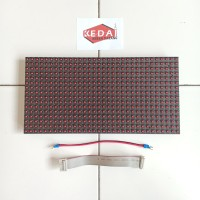 Panel Module Modul LED P10 Running Text DIP Merah Red Outdoor