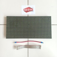 Panel Module Modul LED P10 Running Text DIP Hijau Green Outdoor
