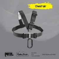 Chest'air Petzl Chest harness for seat harnesses