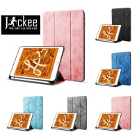 [Smart Case] Case Ipad Mini 5 - Denim - Pencil Holder Silicone