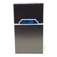 Tempat Kotak Rokok Matches Elektrik USB 9433 - Black
