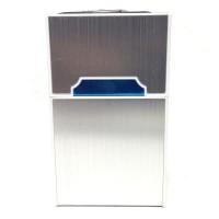 Tempat Kotak Rokok Matches Elektrik USB 9433 - Silver