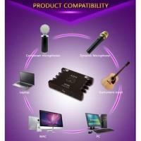 SH285 SOUND CARD EXTERNAL XOX KS108 ONLINE RECORDING SMULE KS 108