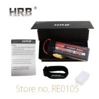 Lipo Battery Batere Baterai HRB Graphene 4S 3000mah 14.8V 100C RC Car