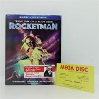 Blu-ray Elton John & Taron Egerton - Rocketman Film Movie DVD Musical