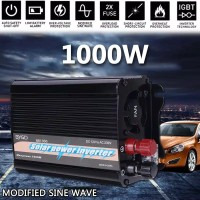 Power Inverter Tenaga Surya 1000W 2000W 12V DC 230V AC Modified Sine C