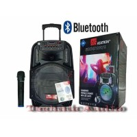 Speaker Aktif Asatron Portable Bluetooth 12 inchi Pluto 1Mic