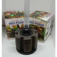 BIOFOAM S crown bio foam S ukuran S breeding filter aquarium murah