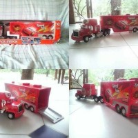 Mainan remote control cars truck trailer mact - RC cars container