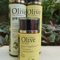 paket OLIVE 3IN1 OLIV shampo conditioner hair tonic