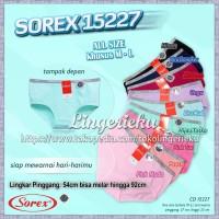Celana Dalam Wanita Sorex 15227 Khusus Ukuran M dan L
